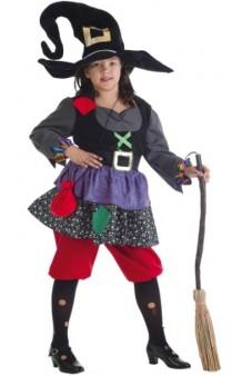 Disfraz Bruja Colorines 9-11 años