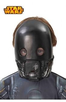 Máscara K-2SO Infantil (Star Wars)