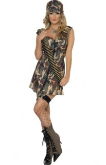 Disfraz Army Girl Fever