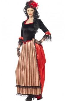 Disfraz Lady Saloon
