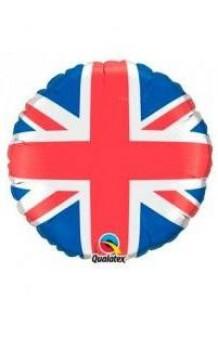 Globo Bandera Inglesa, 56 cm.