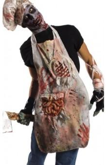 Delantal Carnicero Zombie