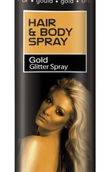 Spray Piel + Cabello Oro