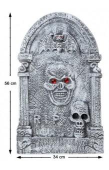 Lápida Halloween, 56 x 34 cm.