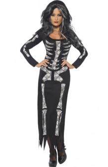 Disfraz Miss Skeleton