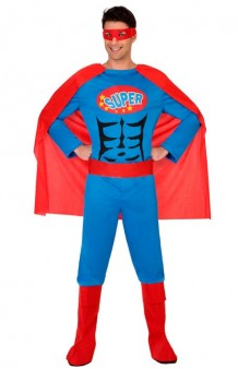 Disfraz Superhéroe Cómic