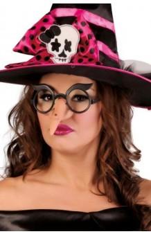 Gafas + Nariz Bruja