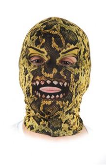 Máscara Serpiente Licra