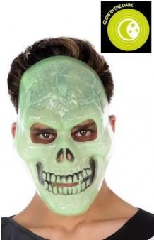 Careta Esqueleto Fluorescente
