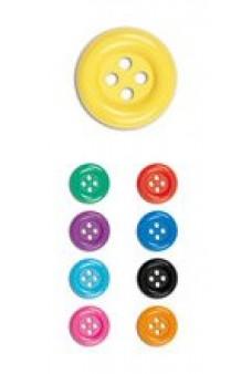 Botones, 28 mm. (Colores Surtidos)