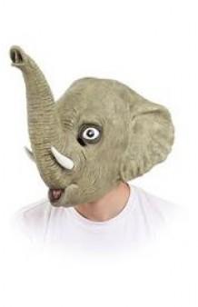 Máscara Elefante Lujo