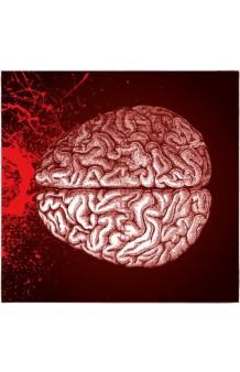 Servilletas Cerebro, 16 uds, (17 x 17 cm.)