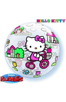Globo Hello Kitty Burbuja, 56 cm.