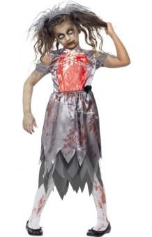 Disfraz Novia Zombie 10-12 años
