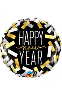 Globo Happy New Year, 46 cm.