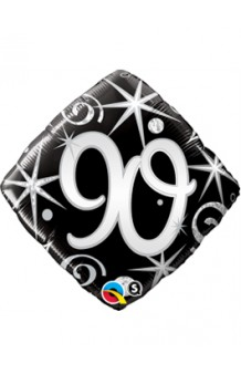 """Globo """"90"""" Ellegance Negro, 46 cm."""