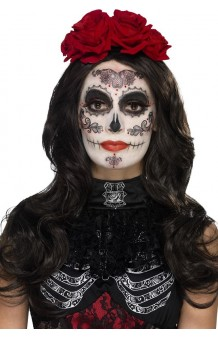 "Kit Maquillaje + Tattoos ""Day of the Dead"" Glamour"