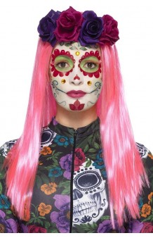 "Kit Maquillaje + Tattoos ""Day of the Dead"" Sweetheart"