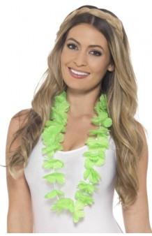 Collar Hawaiano Verde