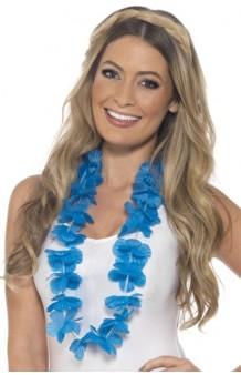Collar Hawaiano Azul