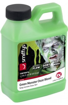 Botella Sangre Verde, 236 ml.