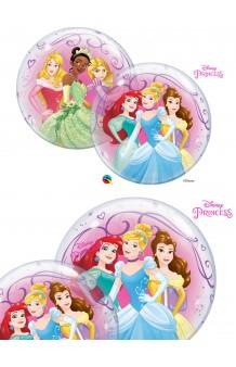 Globo Princesas Disney Burbuja, 56 cm.