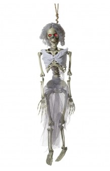 Colgante Novia Esqueleto, 88 cm. (con Luz, Sonido y Movimiento)