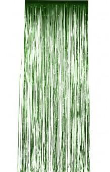 Cortina Verde, 244 x 91 cm.