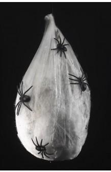 Nido de Arañas, 42 x 24 x 24 cm. (Brillo en la Oscuridad, Sonido y Movimiento)
