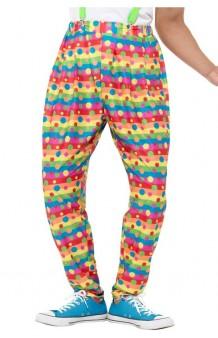 Pantalón Payaso Multicolor