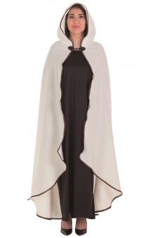 Capa Medieval Beige Deluxe Adultos