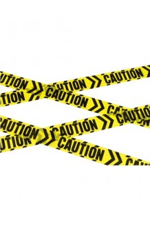"Cinta ""Caution"", 6 m. AGOTADO."