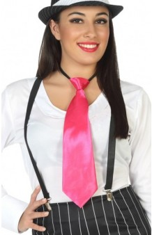 Corbata Fucsia