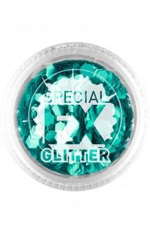 Confetti Glitter Aqua Maquillaje