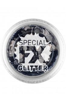 Confetti Glitter Negro Maquillaje