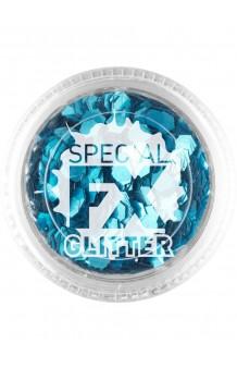 Confetti Glitter Azul Maquillaje