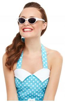 Gafas Blancas Años 50