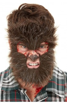 Máscara Pelo Hombre Lobo