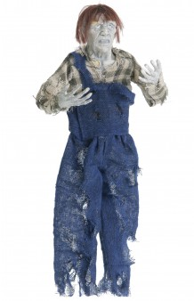 Colgante Campesino Zombie, 50 cm.