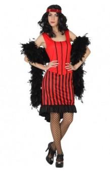 Disfraz Cabaret Rojo