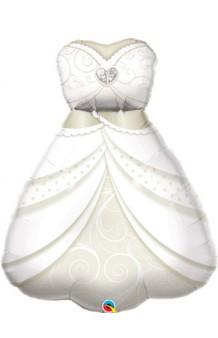 Globo Vestido de Novia, 97 cm.