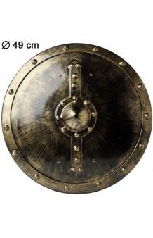 Escudo Redondo, 49 cm.