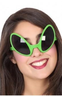 Gafas Alien Verdes