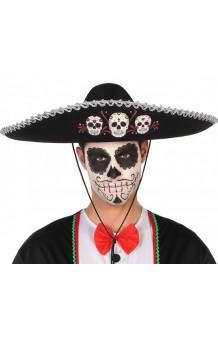 """Sombrero Mariachi """"Día de los Muertos"""""""