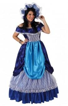 Disfraz Dama Sureña Azul