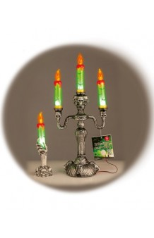 Candelabro Luminoso Halloween, 21 cm.