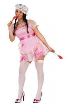 Disfraz Muñeca Rosa T. M-L