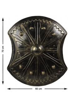 Escudo, 70 x 60 cm.