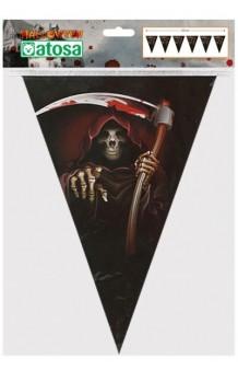 Banderines Muerte, 250 cm.