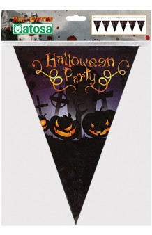 Banderines Halloween Party, 250 cm.